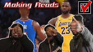 CAN HOUSE MAKE THE SAME PLAYS AS LEBRON JAMES & CHRIS PAUL?!? | HouseReacts