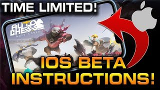 How to GET AUTO CHESS MOBILE on IOS! (Official Beta - Time Limited)