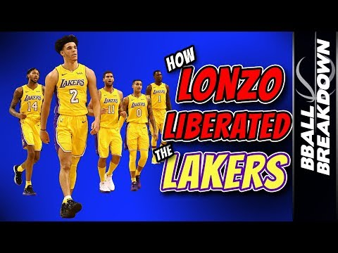 How LONZO Liberated The LAKERS