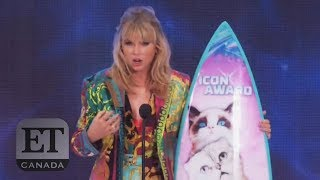 Taylor Swift Talks Mistakes At Teen Choice Awards