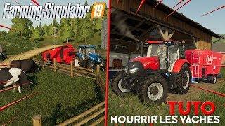 COMMENT NOURRIR VOS VACHES SUR FARMING SIMULATOR 19 !? [TUTO]