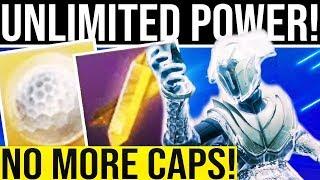 Destiny 2. UNLIMITED POWER PROGRESSION SECRET! Season Ranks, DLC Exotic Armor, Ascendant Materials