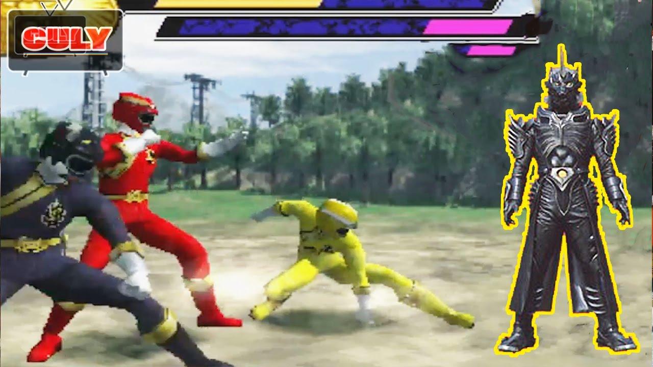Chơi Siêu nhân Gao 3D đánh với quỷ sói gao bạc bị nguyền rủa – funny gameplay gaoranger power ranger