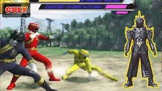 Chơi Siêu nhân Gao 3D đánh với quỷ sói gao bạc bị nguyền rủa - funny gameplay gaoranger power ranger