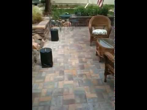 Installing Patio Pavers Paver patio front porch remodel