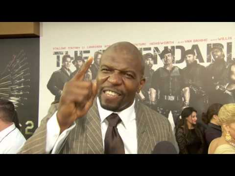 Terry Crews at The Expendables 2 Premiere! HD