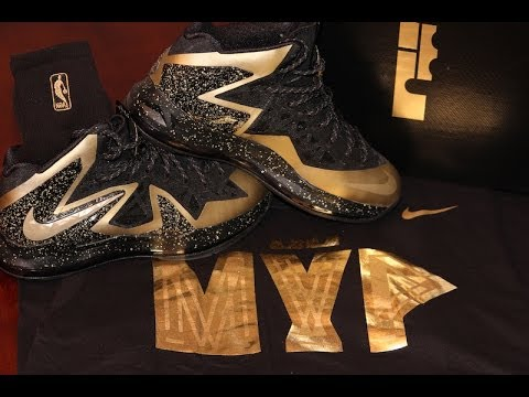 Custom Nike LeBron X P S Elite+ Series From NikeiD Playoff Edition ... 873af6d7f
