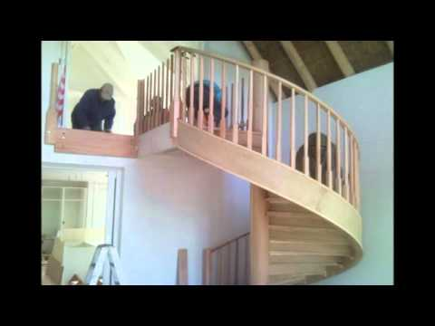 Touw Meubels - Construction of Spiral Staircase