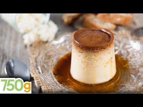recette-de-la-crème-caramel---750g