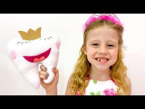 Настя и история про зубную фею