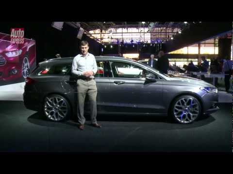 Ford Mondeo at the 2012 Paris Motor Show - Auto Express