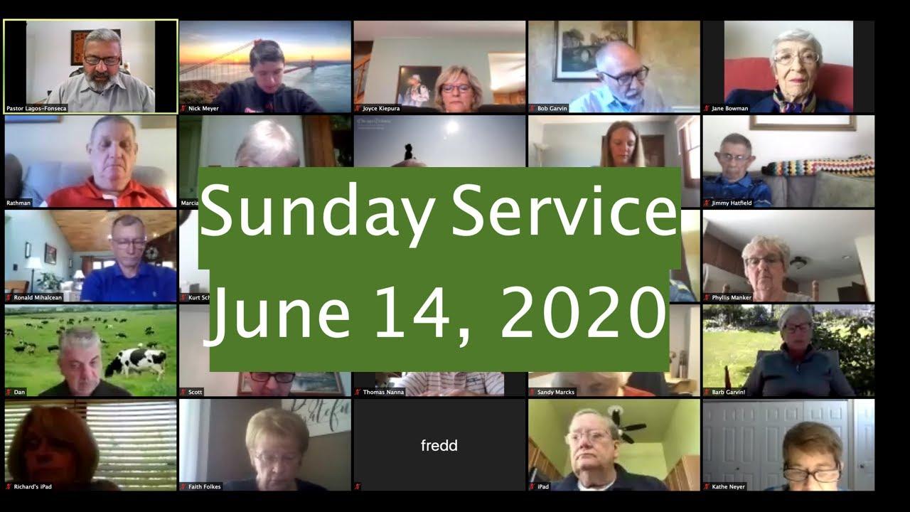 Sunday Service June 14, 2020