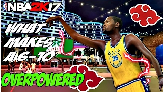 what makes a 6 10 kevin durant shot creator build overpowered nba 2k17