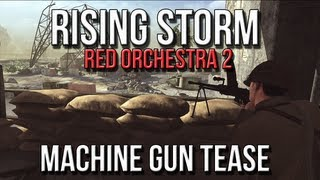 Red Orchestra 2 Rising Storm - Type 92 Heavy Machine Gun on Iwo Jima