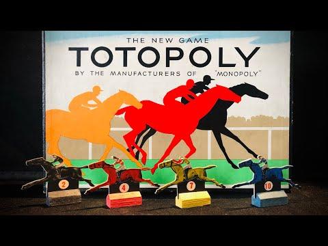 Le Classique Course Jeu Totopoly 1978 Remplacement /& De rechange Pièces