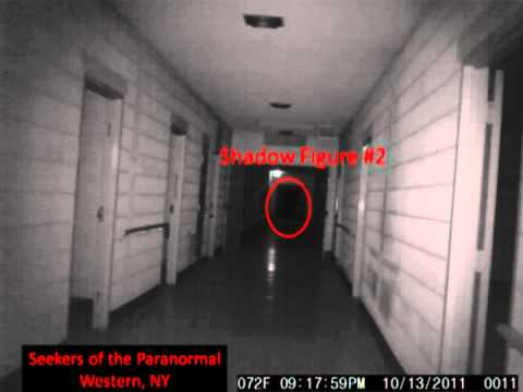 Shadow Figures At Rolling Hills Asylum S Shadow Hallway