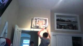 Just in Tyme Sports hang on rim