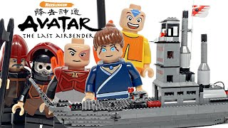 Rare LEGO Avatar The Last Airbender Fire Nation Ship review! 2006 set 3829!