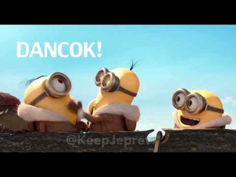 Minion misuh CUK DANCOK ASU