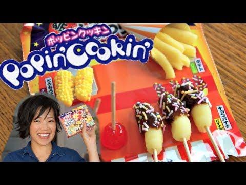 Download Youtube: OMATSURI POPIN' COOKIN' Japanese Candy Kit makes miniature Japanese festival treats