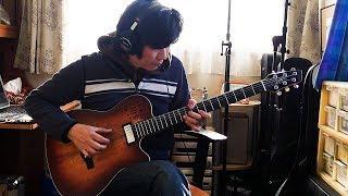 Stevie Wonder - Overjoyed : Godin A6 Ultra Baritone