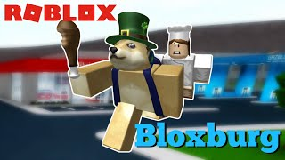 NOT PAYING FOR FOOD AT RESTAURANTS | Roblox Welcome to Bloxburg Gameplay #9