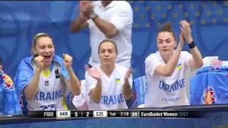 Топ-моменти матчу Україна - Чехія   Євробаскет-2017