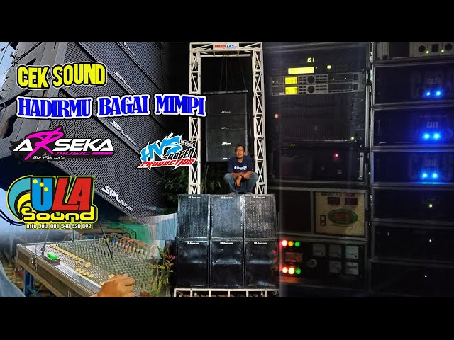 Cek Sound (Hadirmu Bangai Mimpi) - Campursari ARSEKA MUSIC Live Dk Ngrampal Kebonromo Ngrampal Srgn
