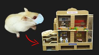Hamster Obstacle Course Mąll !! AEON MALL Maze !! Challenge by Life Of Pets HamHam
