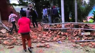 ms de 1150 muertos por un fuerte terremoto que sacudi a nepal