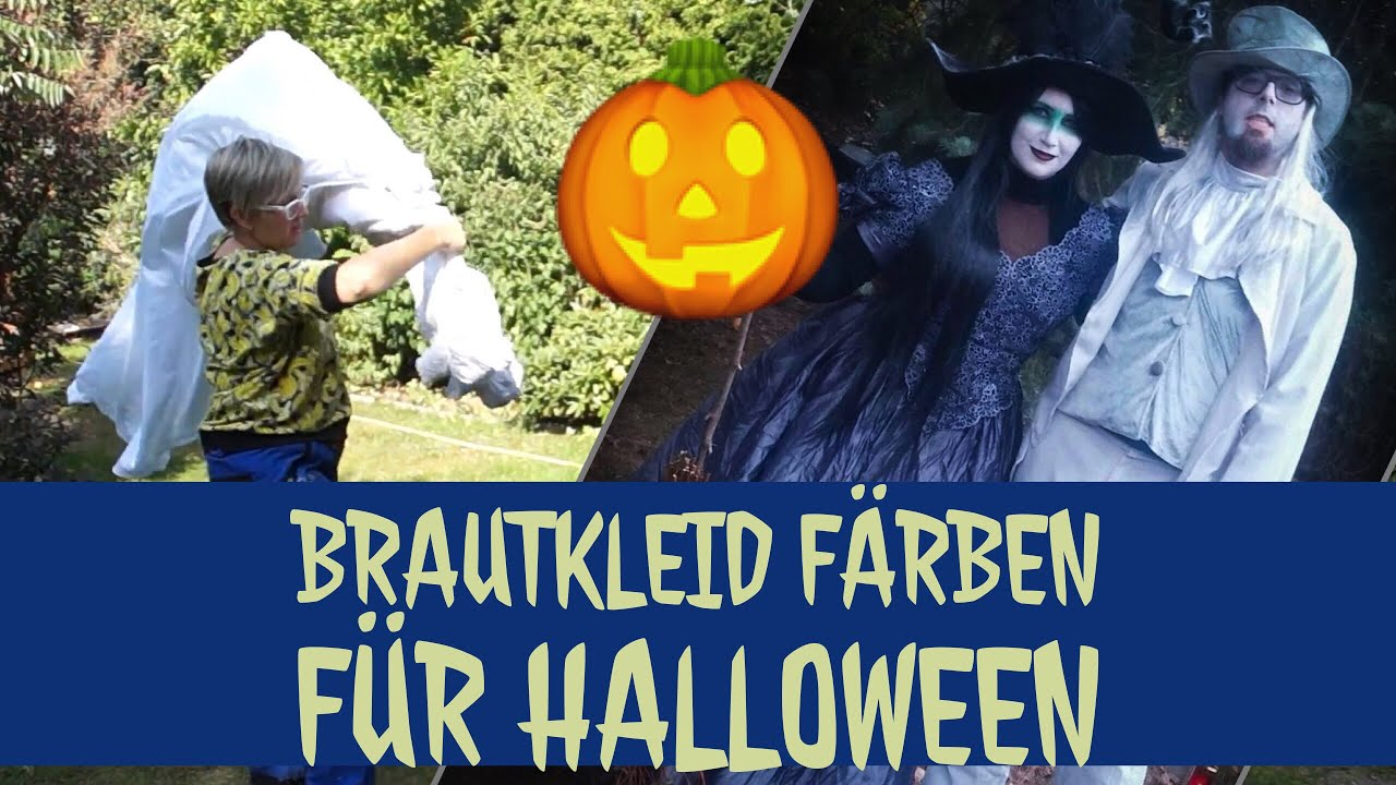 brautkleid f rben f r halloween polyester f rben diy youtube. Black Bedroom Furniture Sets. Home Design Ideas