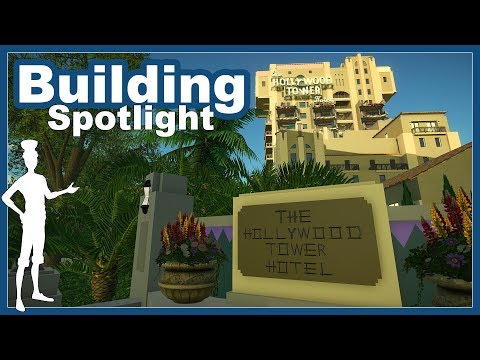 The Twilight Zone Tower of Terror DCA   Building Spotlight   Planet Coaster