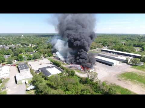 Forest River Factory Fire Elkhart, IN 5/14/17