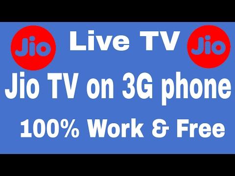 Free Use Live  Jio TV on 3G phone Hindi 100% Work