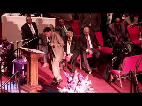 Bishop Dickerson L.S. Wells at Virginia 3rd COGIC Worker's Conference 2016
