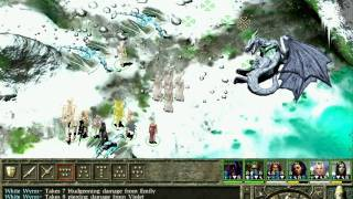 Icewind Dale II Playthrough Part 98: The White Dragon