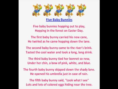 Easter Poems (Children's Easter Poems) - YouTube