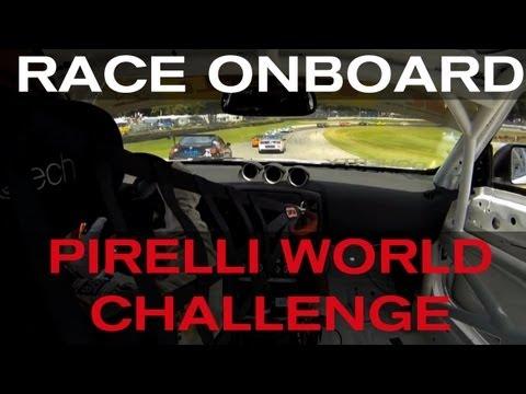 GTS 370Z ONBOARD - GT Academy Winner Steve Doherty races in the Pirelli World Challenge - OHIO 2013
