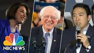 Watch 2020 Democratic Candidates React To New Hampshire Primary Results | NBC News