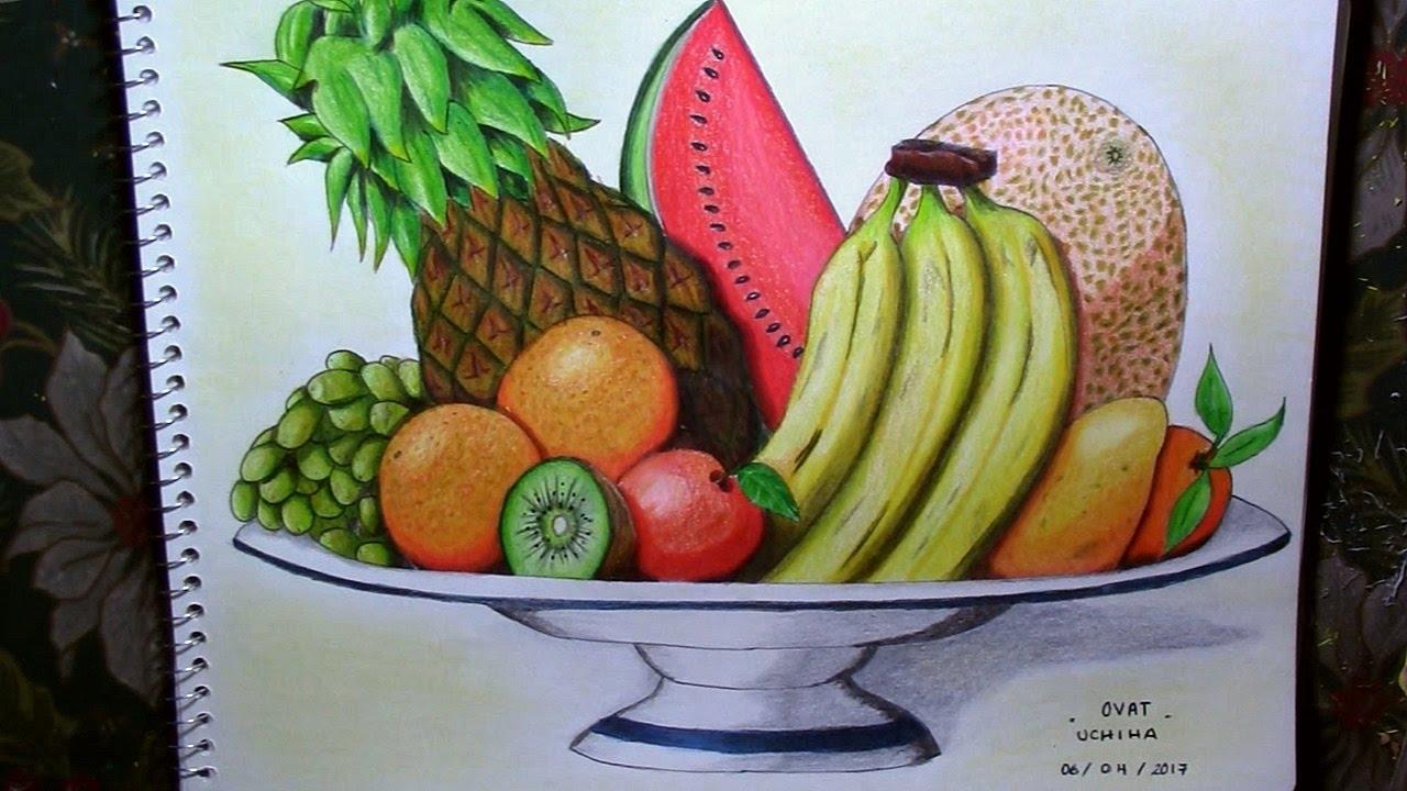 Tiempo De Dibujar Unas Frutas Youtube