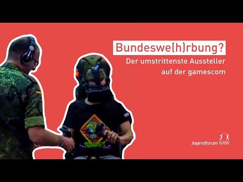 Bundeswehr auf der gamescom?!   Jugendforum NRW auf der gamescom 2018