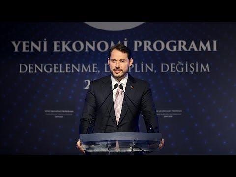 Hazine ve Maliye Bakanı Albayrak, Yeni Ekonomi Programı'nı açıkladı