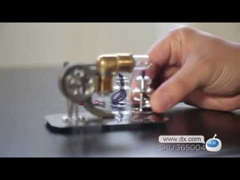NEJE DIY Mini Hot Air Stirling Engine Motor Model Toy -- DX.COM