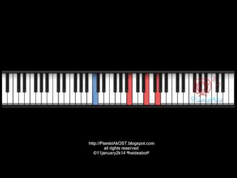 PianistAkOST tutorial: the heirs ost - PORTENTS OF WAR piano