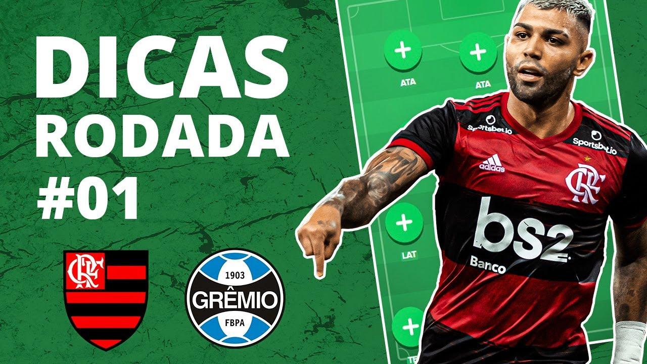 DICAS RODADA 1 - TIME FINAL - CARTOLA FC 2020