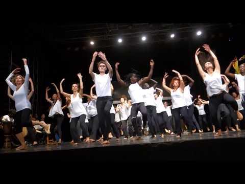 La grande leçon des grandes dames des danses d'Afrique... l´IF de Dakar 03 03 08