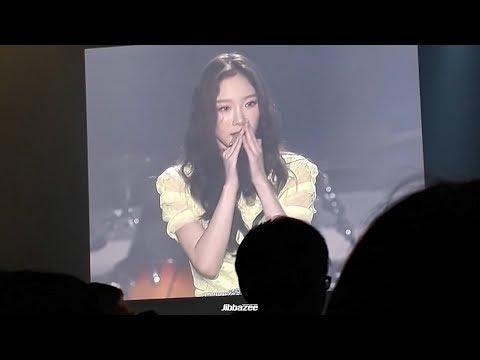 181201 Taeyeon Speaks Thai's..N CONCERT in BANGKOK