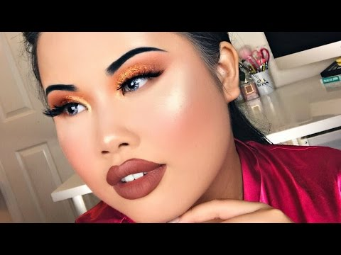 GRWM! Copper Spice Makeup | Kim Thai