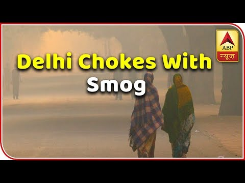 Delhi Chokes With Smog; AQI Crosses 500 Mark | ABP News