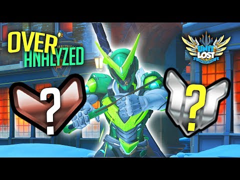 Overwatch Coaching - TYPICAL GENJI MAIN! MY RANK IS WRONG!! [OverAnalyzed]